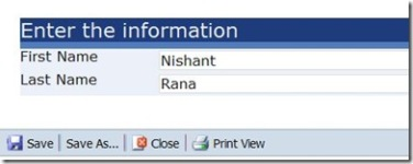 InfoPath forms and SQL Server Reporting Services | Nishant