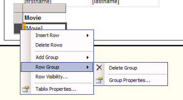 Creating a master detail report in SSRS without using Sub report