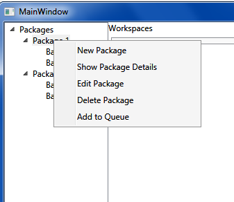 Creating dynamic ContextMenu for TreeView in WPF | Nishant