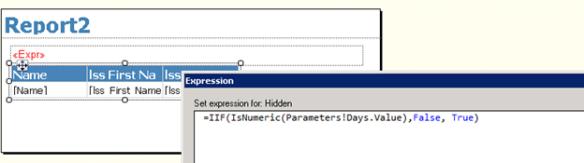 Validating Input Parameters in SSRS   Nishant Rana's Weblog
