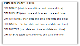 Calculate Date Difference in CRM 2015. (1/3)