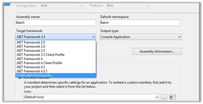 NET Framework 4.5.2 Missing In Visual Studio 2013.