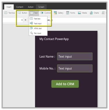 PowerApps in CRM 2016 (Microsoft Dynamics 365)   Nishant
