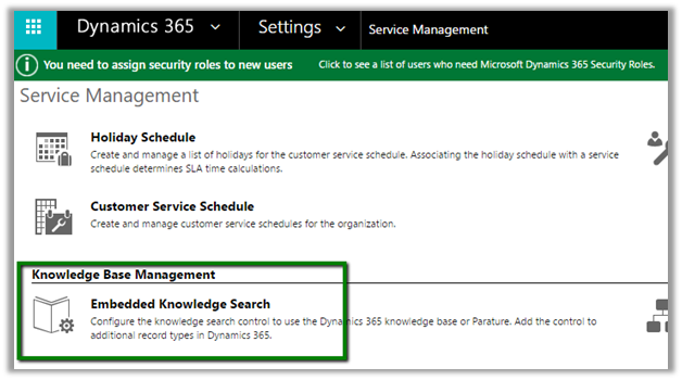 Associating Knowledge Base article with Portal in Dynamics