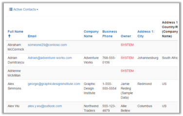Using Details View to update the Entity List records in Portal in