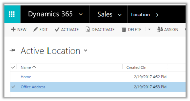 Configuring Map View for Entity List in Portal in Dynamics 365