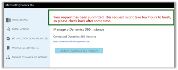 Manage Dynamics 365 Portal Instance | Nishant Rana's Weblog