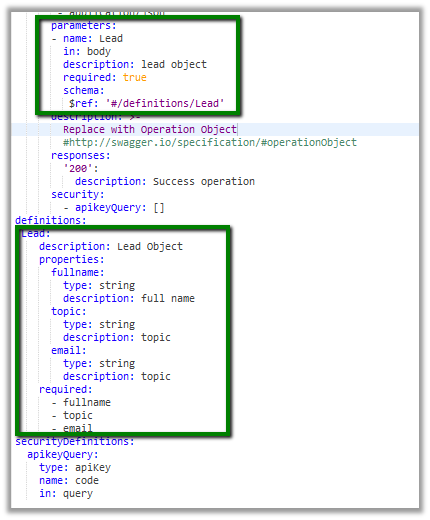 How to – Post a JSON body in Swagger - Microsoft Dynamics