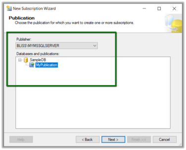 Using SQL Server Transactional Replication to move data from