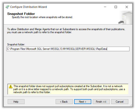 Using SQL Server Transactional Replication to move data from SQL