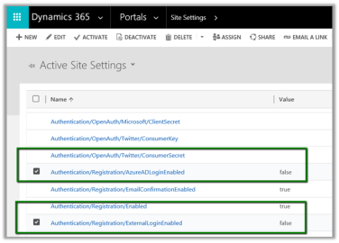 "Hide ""Sign in with an external account"" from Dynamics 365"