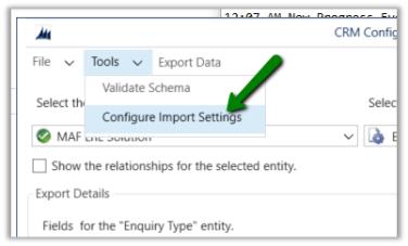 Data Import Export In D365