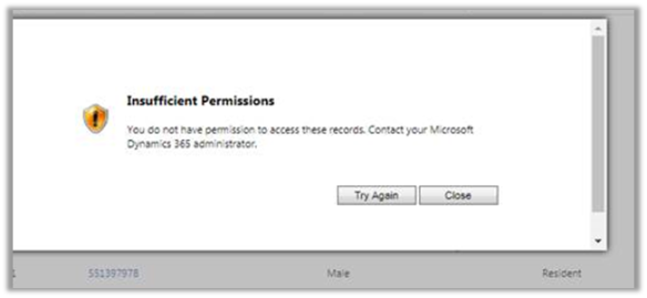 Insufficient Permissions error while updating records using