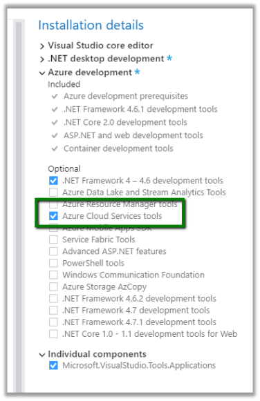 Publish as Azure Web Job Option missing in Visual Studio