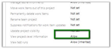 401 Not Authorized error while access project in VSTS | Nishant