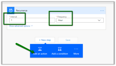 Using Recurrence trigger in Microsoft Flow | Nishant Rana's Weblog
