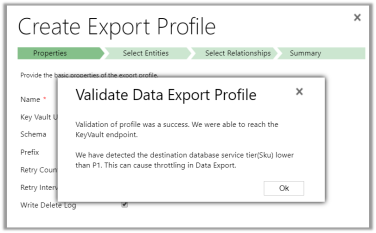 Error validating profile registration while configuring Microsoft