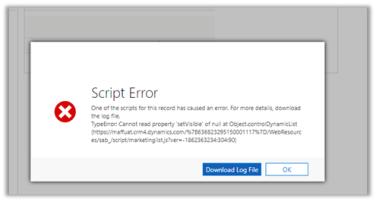 Dynamics 365 CE Update changed the form's layout | Nishant Rana's Weblog