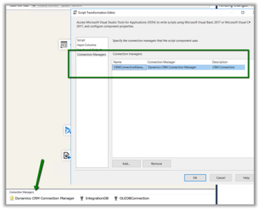 Using CDS/CRM Connection Manager of KingswaySoft's SSIS