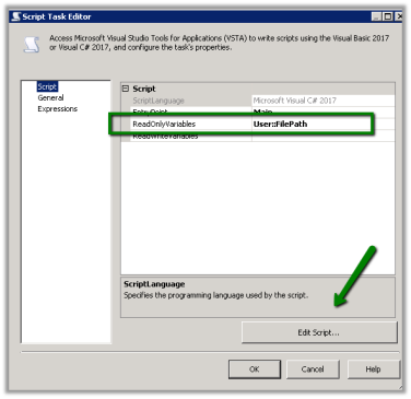 Using Foreach Loop Container in SSIS to loop through all