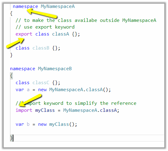 TypeScript Language Quick Reference | Nishant Rana's Weblog