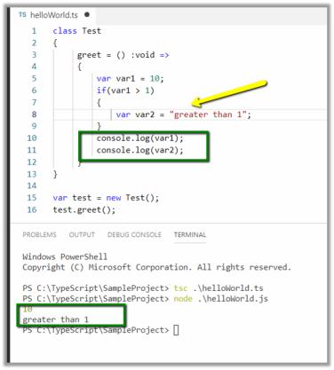 TypeScript Language Quick Reference   Nishant Rana's Weblog