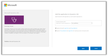 Using PowerApps Solution Checker from the PowerApps maker