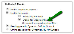 Notes on Dynamics 365 for Phones and Tablets app – Part 8 (Mobile Offline)