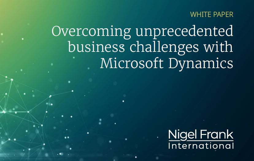 Overcoming unprecedented business challenges with Microsoft Dynamics365