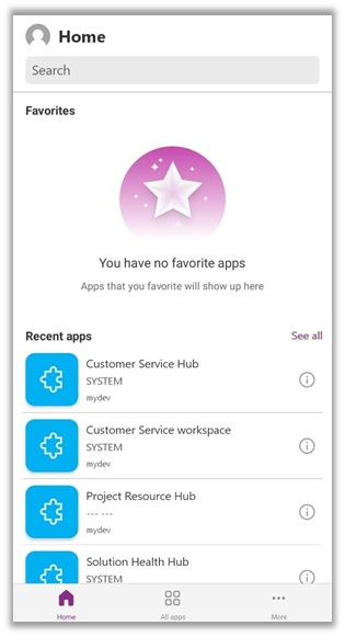 New experience – Power Apps Mobile App- Preview