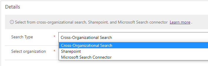 Search Providers (Preview) in Dynamics 365 Customer Service Hub